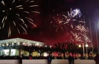 Sylwester w Sopocie 2018/2019 - fajerwerki na molo