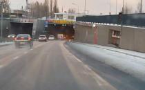Ograniczenie w tunelu pod Wisłą