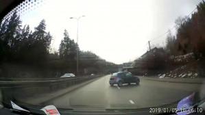 Wypadek na trasie Słowackiego