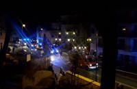 Ewakuacja mieszkańców w Sopocie