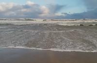 Wyspa Sobieszewska sztorm 03.01.2019r.