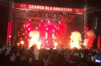 Wtargnięcie na scenę podczas finału WOŚP w Gdańsku