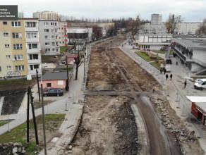 Przebudowa trasy tramwajowej na Stogach
