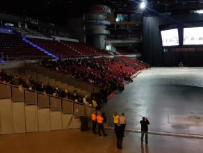 Pogrzeb Pawła Adamowicza na ekranach w Ergo Arenie