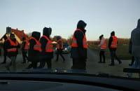 Giełda Pruszcz Gdański blokady protest