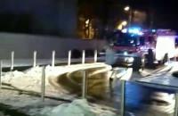 Akcja straży pożarnej w Sopocie
