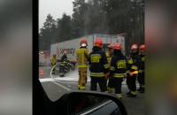 Strażacy opanowali sytuację na Obwodnicy