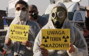 Happening przeciwko budowie elektrowni jądrowych