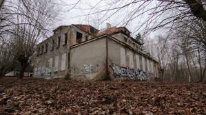 Ruiny Trójmiasta: Opustoszała restauracja Bergschloss