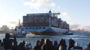 Najdłuższy statek w historii gdyńskiego portu