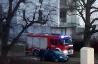 Interwencja straży pożarnej na Malczewskiego w Gdańsku