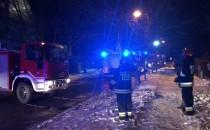 Pożar domu jednorodzinnego w Osowej