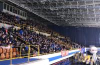 Wypełniona hala Olivia na meczu MH Automatyka - GKS Tychy