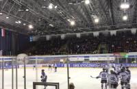 Rozgrzewka przed meczem MH Automatyka vs GKS Tychy