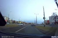 Niebezpieczne zachowanie na skrzyżowaniu w Gdyni