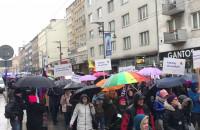 Manifa idzie ulicami w Gdyni