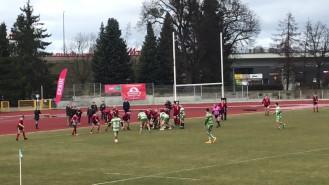 Rugby, mecz Lechia - Skra