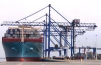 Kontenerowiec Maersk Elba zawitał do gdańskiego terminalu DCT