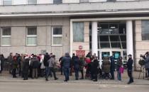 Protest pod Urzędem Miasta w Gdyni
