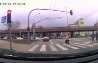 Blokowanie skrzyżowania pod Hutniczą