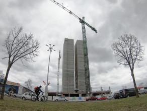 Budowa nowego biurowca w Oliwie