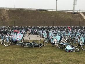 Rowery Mevo czekają na start