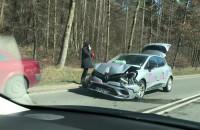Wypadek na ul. Spacerowej w Gdańsku