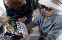 Obchodzili 100 urodziny swojej nauczycielki od historii