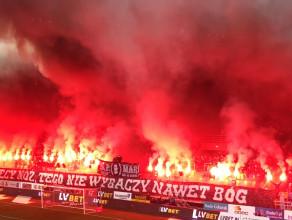 Race na meczu Arka Gdynia - Śląsk Wrocław