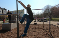 Nowy plac parkour na Witominie