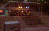 Jazz w Teatrze Leśnym (nagranie komórką)