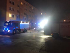 Pożar mieszkania przy ul. Grabowskiego