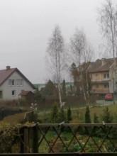 Opady śniegu - Gdańsk Jasień