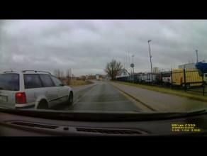 Zagrożenie w ruchu drogowym