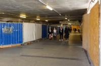 Otwarty tunel przy Dworcu Głównym w Gdańsku