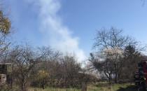 Pożar na Małym Kacku