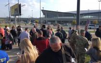 Zakończono ewakuację na lotnisku