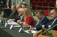 Wspólna sesja rady miasta w Ergo Arenie
