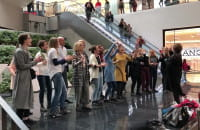 Flash Mob - chóry Gospel w Forum Gdańsk
