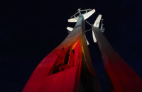 Iluminacje obiektów na biało-czerwono