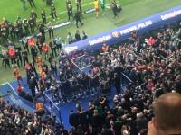 Dekoracja Lechii Gdańsk w finale Pucharu Polski