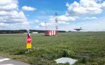 Samolot transportowy C17 na lotnisku w...