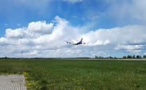 Dziejszy odlot Boeing 747-400 ;)