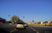 Kolizja na drodze