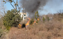 Pożar w Małym Kacku