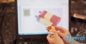 Dzieci o półkoloniach z LEGO!