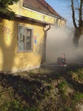 Zbieracz podpalił mieszkanie