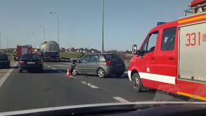 Wypadek zjazd Gdynia