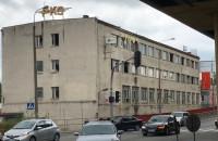 Zdewastowany budynek PKS w Gdyni