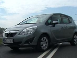 Opel Meriva - po prostu mały van